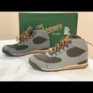 Danner Jag Gray Leather Waterproof Hiking Boot